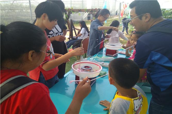 桦润馨居幼儿园中班前来深圳泥巴园开启快乐周末亲子